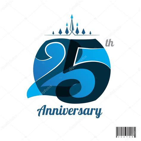 illustration now 25th anniversary 3836505096 dise 241 o de logotipo del aniversario de 25 a 241 os y s 237 mbolo archivo im 225 genes vectoriales