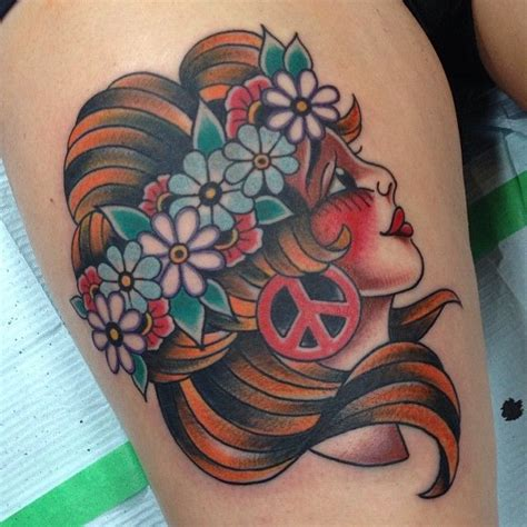 hippie tattoo designs the 12 best hippie tattoos