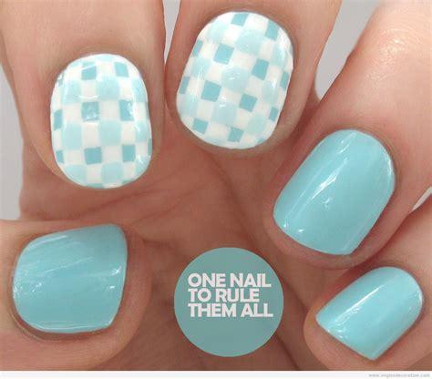 Deco Ongle Bleu by Bleu D 233 Coration D Ongles Nail
