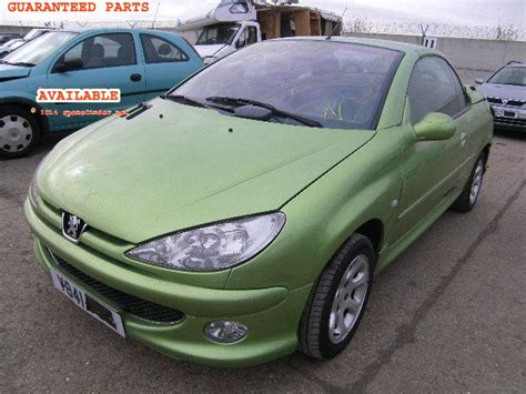 Spare Part Peugeot 206 Peugeot 206 Cc Breakers Peugeot 206 Cc Spare Car Parts