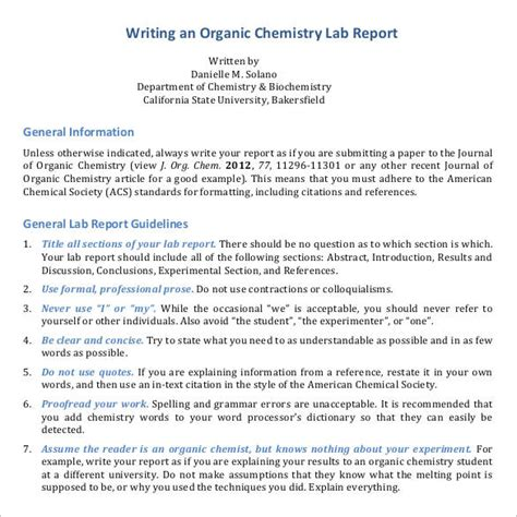 sle report writing format 46 free documents in pdf