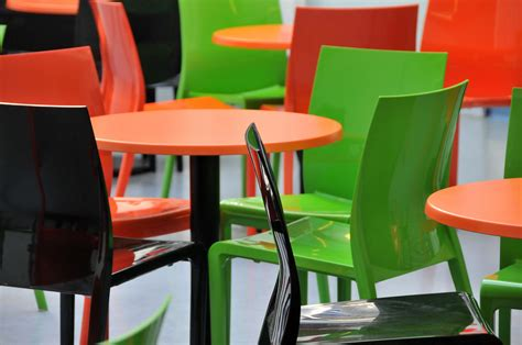 Propylene Vinyl Acrylic polypropylene or wooden restaurant chairs the pros and