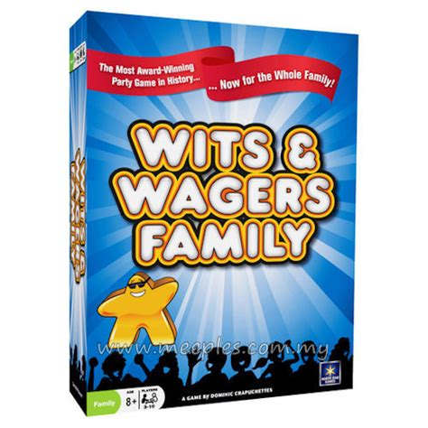 game design wits wits wagers family