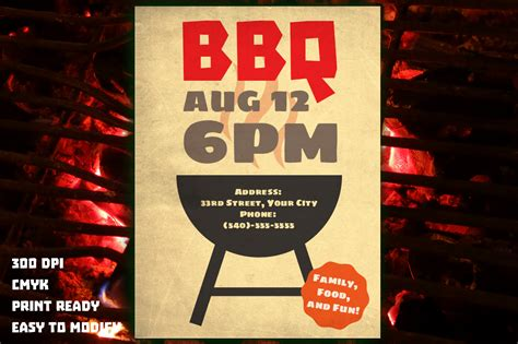 bbq flyer template bbq flyer background images