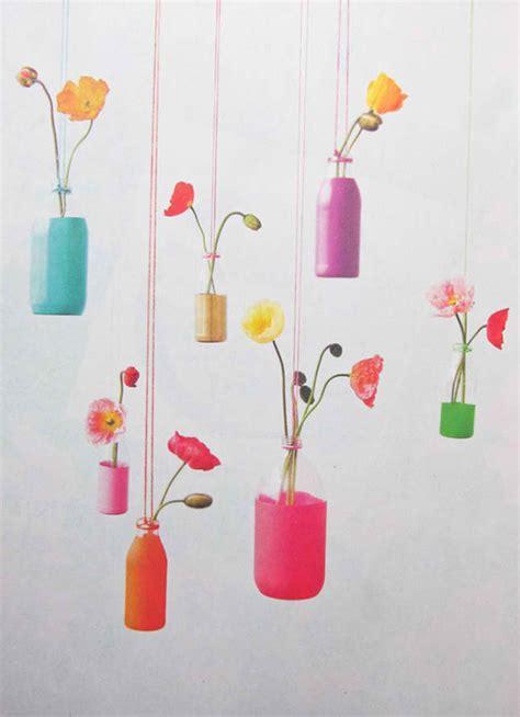 Hanging Vases Diy by 22 Diy Flower Vases For Your Fave Blossoms Home Design Lover