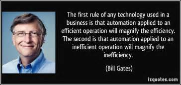 the rule of any technology used in a business is