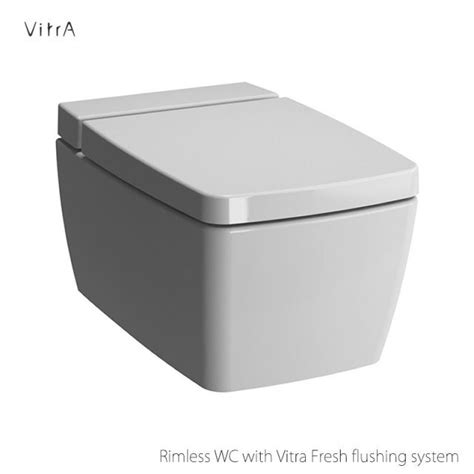 vitra m line rimless wall hung toilet bathroom ideas