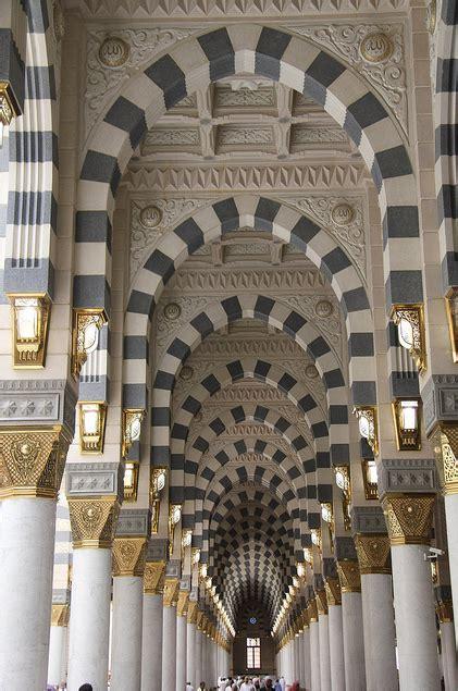 interior masjid interior architecture of masjid al nabawl madina saudi