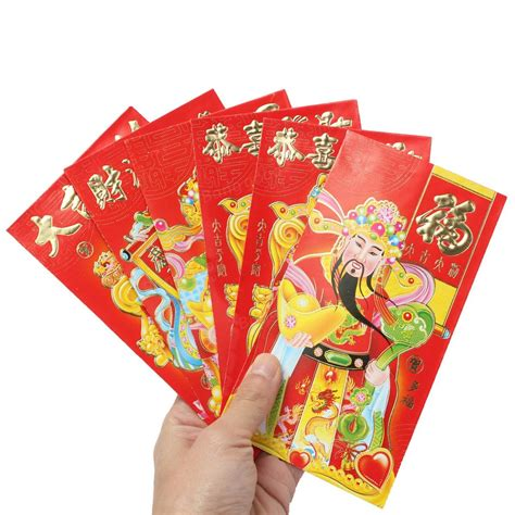 new year lucky money us mint 6pcs wealth chinatown festival envelope