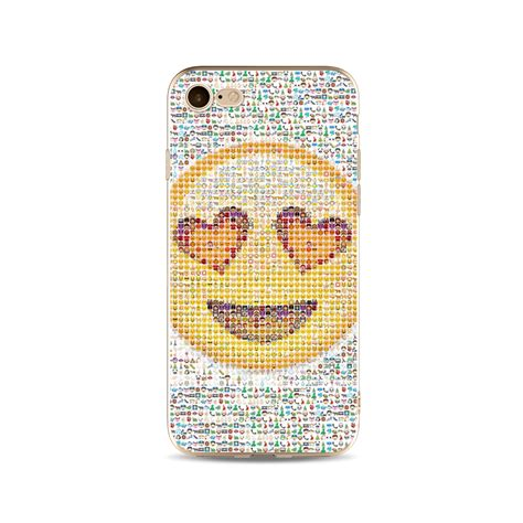 phone cover with emoji effect for iphone 5 5s se 6 6s 7 8 plus x 10 ebay