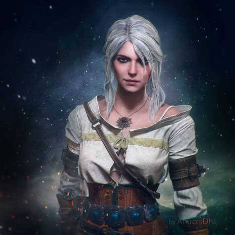 ciri by anubisdhl on deviantart
