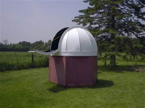 Backyard Dome by Dinosaurs And Robots Backyard Observatory Dome