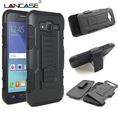 heavy duty cases for samsung galaxy j5 shockproof kickstand belt clip armor for