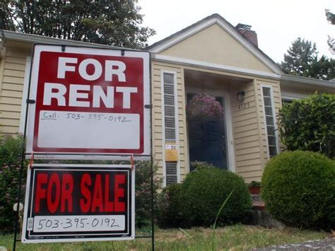 portland houses for rent is it better to buy or rent a home