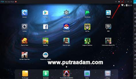 cara mod game jadi offline cara memainkan pokemon go di pc menggunakan nox app player
