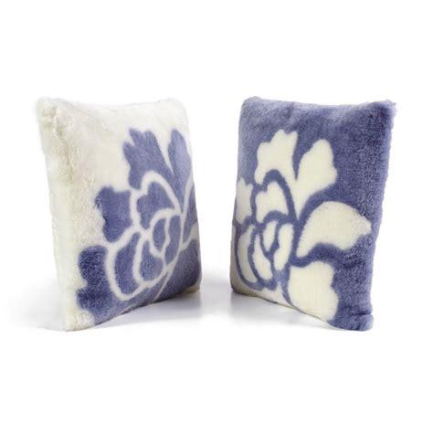 Lambskin Pillow by Fibre By Auskin Sheepskin Shearling Design Pillows