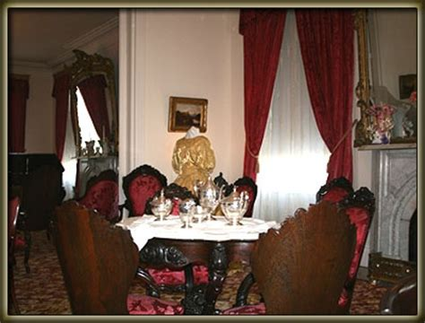 interior  rosalie antebellum home natchez ms historic