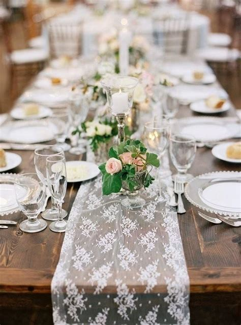 Table Runner Wedding by 9 Trending Table Runners For Weddings Mywedding