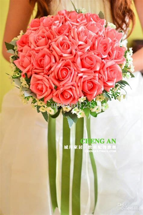 Discount Bridal Bouquets by 2013 Sale Wedding Bouquet Artificial Ivory