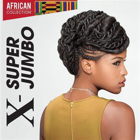 hairstyles with super x braids sensationnel synthetic hair kanekalon x super jumbo braid