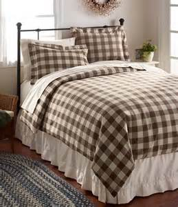 Bedding coffe driftwood brown amp off white buffalo plaid check
