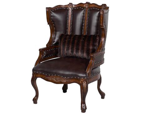 Wing Back Chair by Benetti S Italia Cavalli Wing Back Chair