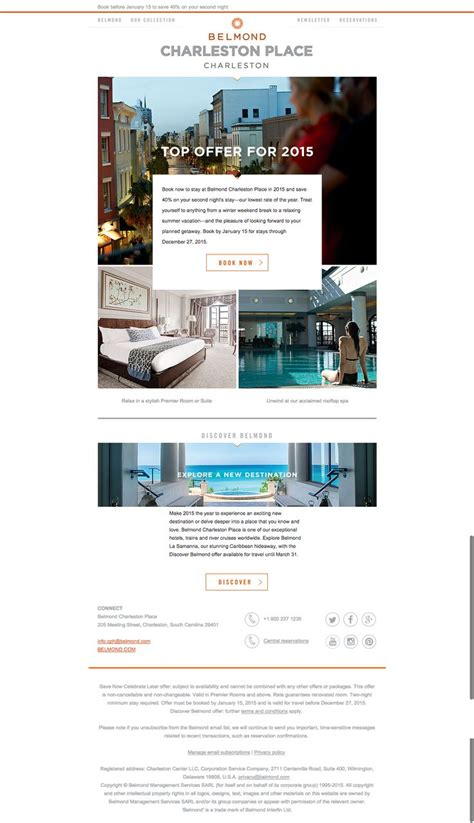 design management topics belmond hotels are masters at email marketing this