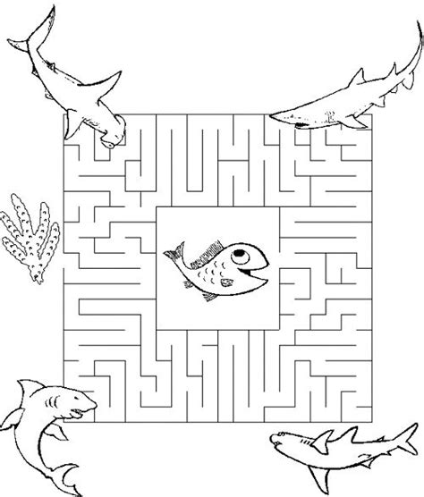 printable beach maze 544 best images about laberintos on pinterest free
