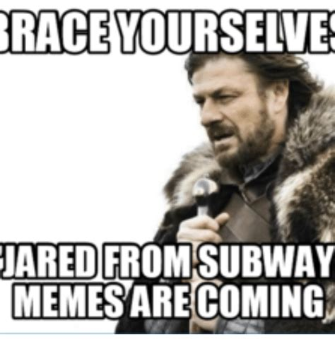 Subway Meme - 25 best memes about jared from subway jared from subway