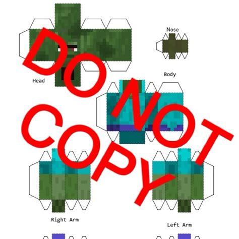 How To Make Paper Minecraft Stuff - free minecraft papercraft villager scrapbooking