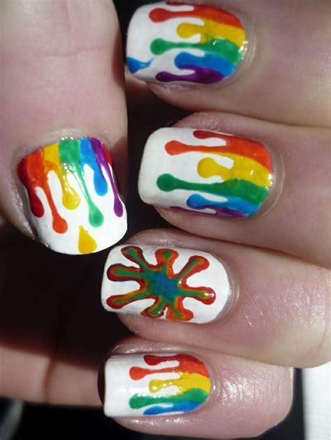 amazing nail art tutorial 2 incredibile arcobaleno nail art tutorial con la