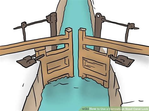 how to draw a narrow boat how to use a narrowboat sized canal lock 9 steps with
