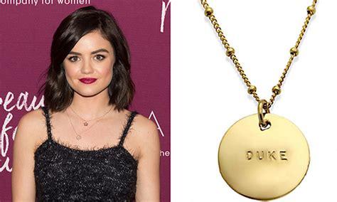 celebrity personalized jewelry kate middleton beyonc 233 jennifer aniston and more stars