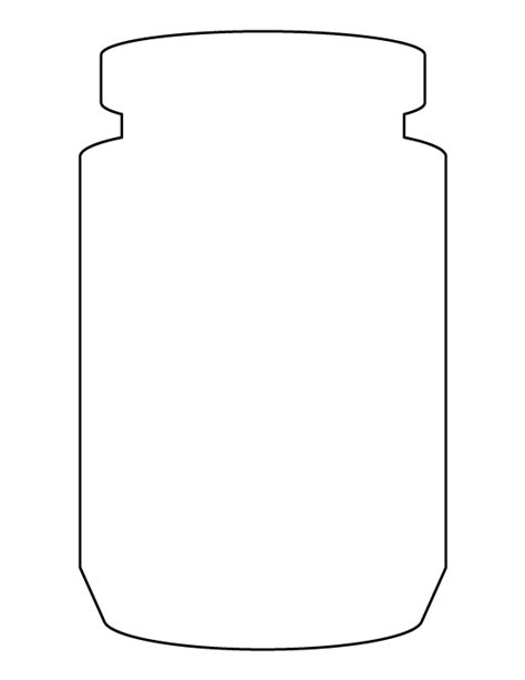 jar cut out template pin by muse printables on printable patterns at