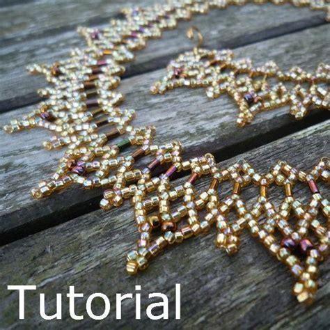 beadwork simple simple necklace beadwork pattern tutorial instant