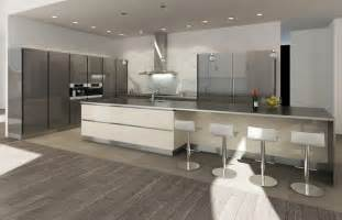 Contemporary Kitchen Island - chipendale kitchen in west vancouver