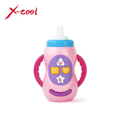 Mainan Feeding Bottle With Light And xc6613 6 milk bottle learning baby toys with sound and light child musical feeding