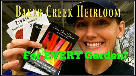 best seed company my top 10 best from baker creek heirloom seed company