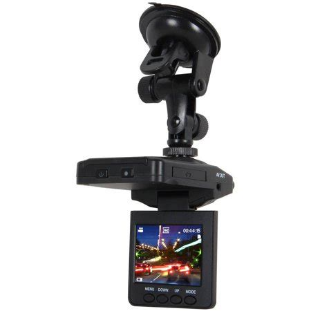 pilot automotive flip screen dash cam with 2.5 lcd screen