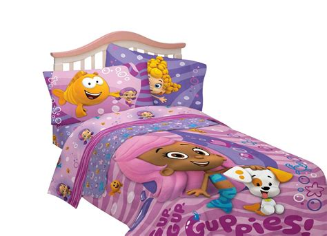 Bubble Guppies Bedding Bedroom Theme Pinterest Guppies Crib Bedding