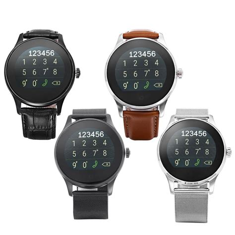 Smartwatch Ios original k88h smart mtk2502 bluetooth smartwatch rate monitor wearable devices