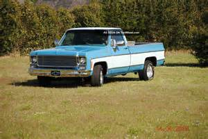 1978 chevy silverado wide bed v8 rust truck