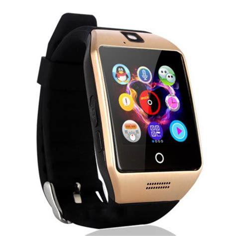 Q18 Bluetooth Smartwatch Phone W Pedometer Anti Lost Xs agptek q18s smart lcd touch wristwatch w