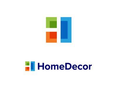 home decoration logo homedecor by jeroen van eerden dribbble