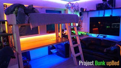 project bunk bed build log ultimate room setup youtube