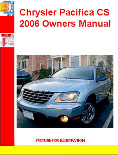 online car repair manuals free 2006 chrysler pacifica lane departure warning chrysler pacifica cs 2006 owners manual download manuals te