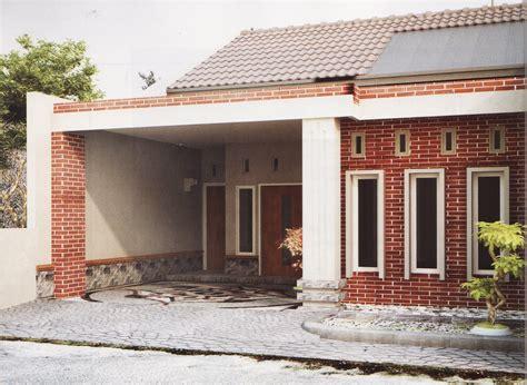gambar denah rumah desa sederhana