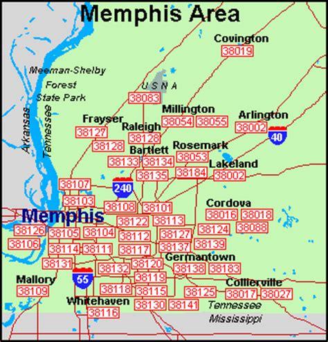 zip code map for memphis tn memphis tn zip code map my blog