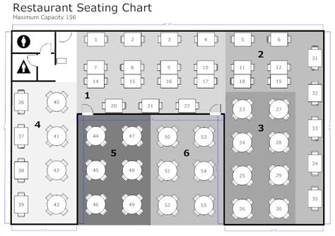 create restaurant floor plan restaurant floor plan how to create a restaurant floor plan