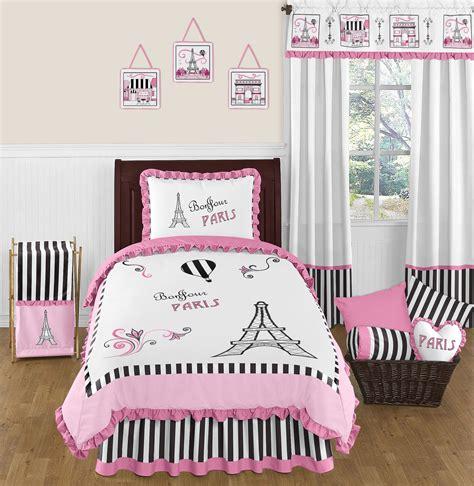 twin bed blanket size paris bedding set 4 piece twin size by sweet jojo designs blanket warehouse
